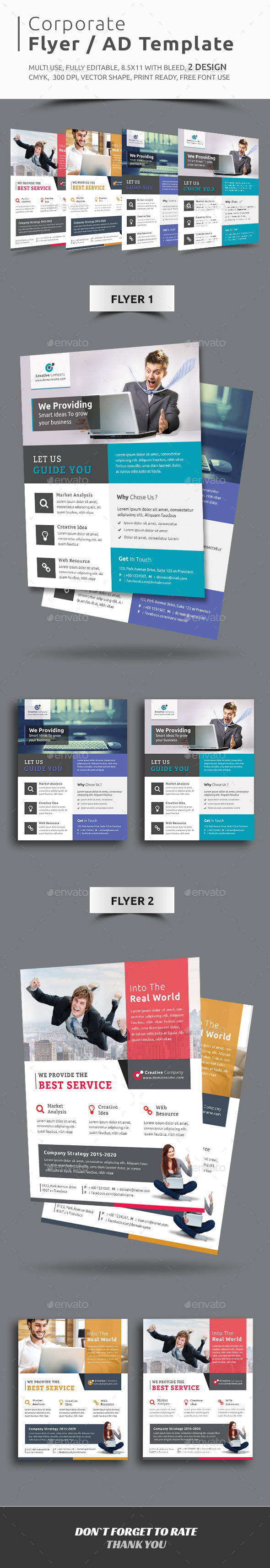 GraphicRiver Corporate Flyer AD Template 11769827
