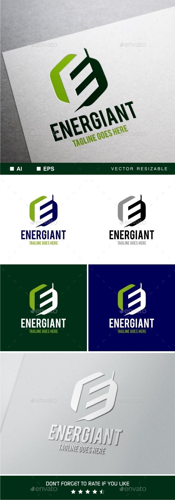 GraphicRiver Energiant ~ Letter E Logo Template 11770898