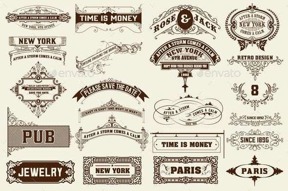 GraphicRiver 22 Labels and Banners 11770937