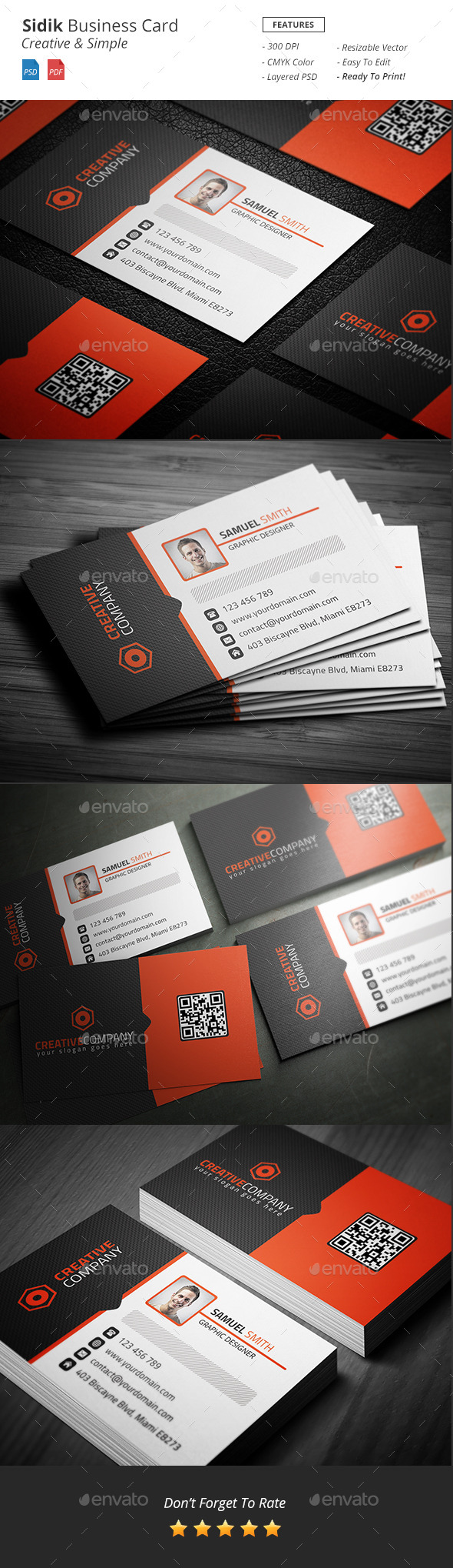 GraphicRiver Sidik Creative Business Card 11770995