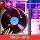 Vinyl Record & Album Cover Mock-ups - Party Pack