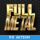 Full Metal Package 3D - Photoshop Actions
