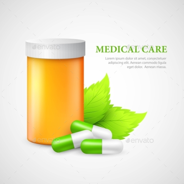 GraphicRiver Container and Pills 11771371