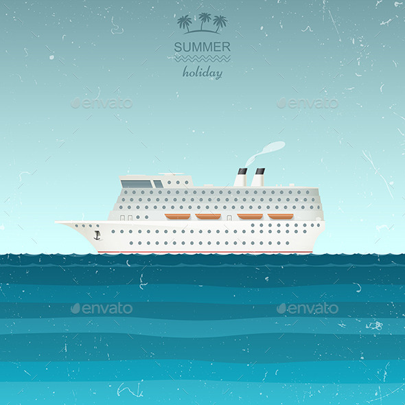 GraphicRiver Cruise Ship 11771509
