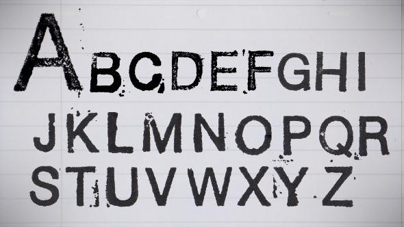 Stamp Font