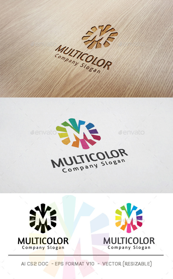 GraphicRiver Multicolor Logo 11771983