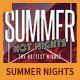 Summer Hot Nights Party Flyer