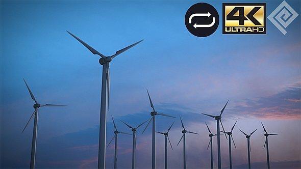 VideoHive Wind Energy Turbines 11772437