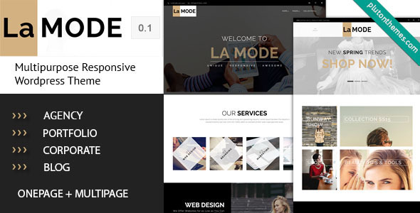 ThemeForest La Mode Multipurpose WordPress Theme 11696551