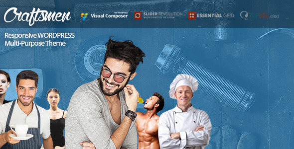 ThemeForest Craftsmen WordPress Theme for Every Business 11772512