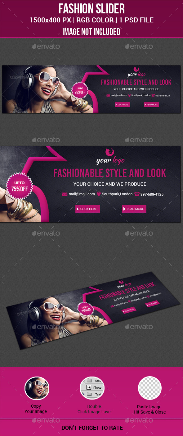 GraphicRiver Fashion Slider 11772607