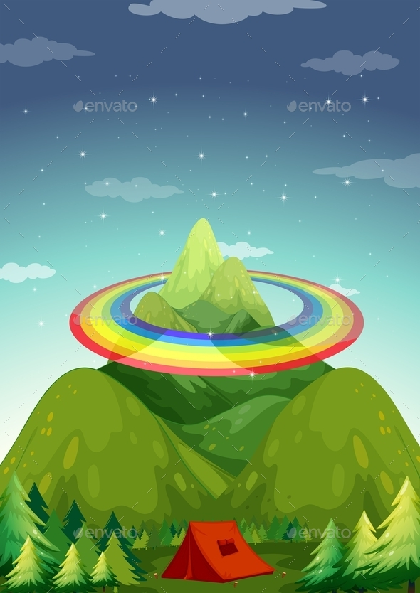 GraphicRiver Rainbow 11772626