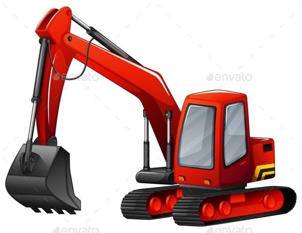 GraphicRiver Excavator 11772844