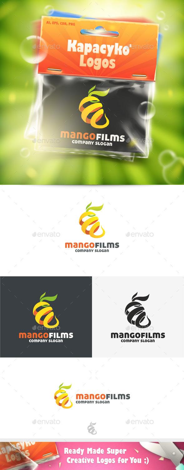 GraphicRiver Mango Films Logo 11772867