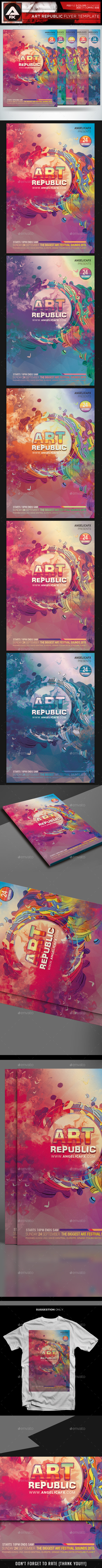 GraphicRiver Art Republic Flyer Template 11772873