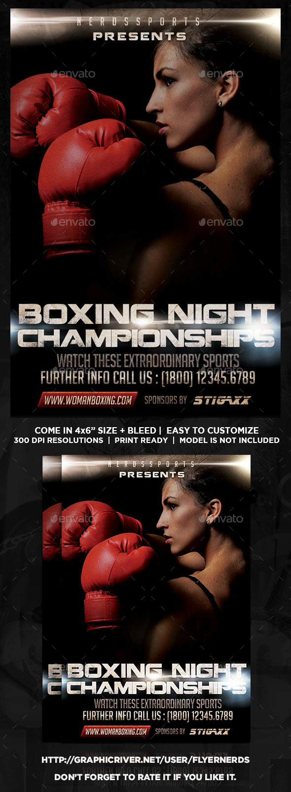 GraphicRiver Boxing Night Champonships 11772892