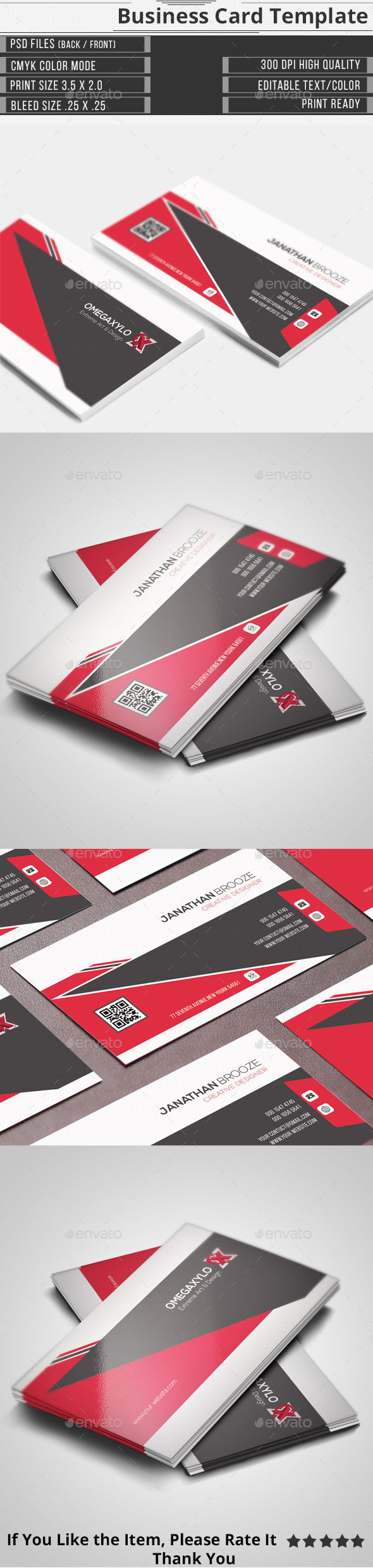 GraphicRiver Corporate Business Card 11772968