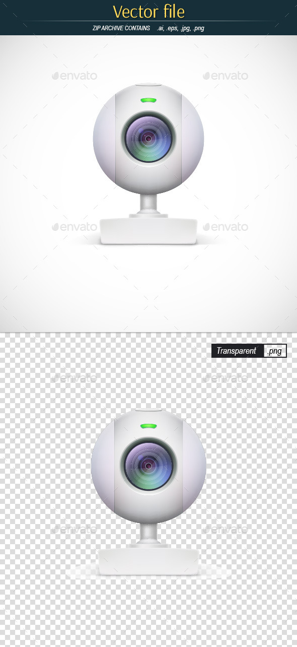 GraphicRiver Webcam Icon 11773029