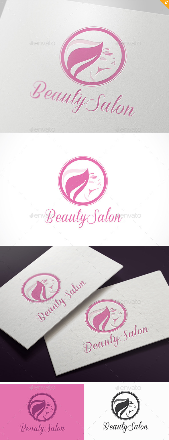 GraphicRiver Beauty Salon Logo 11773553