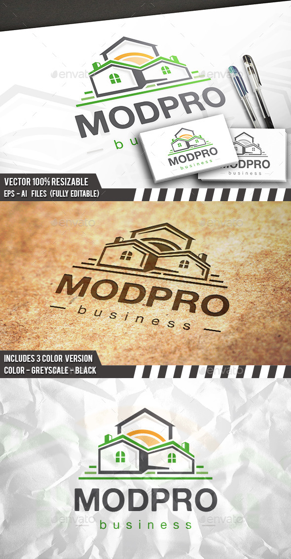 GraphicRiver Modern Property Logo 11773885