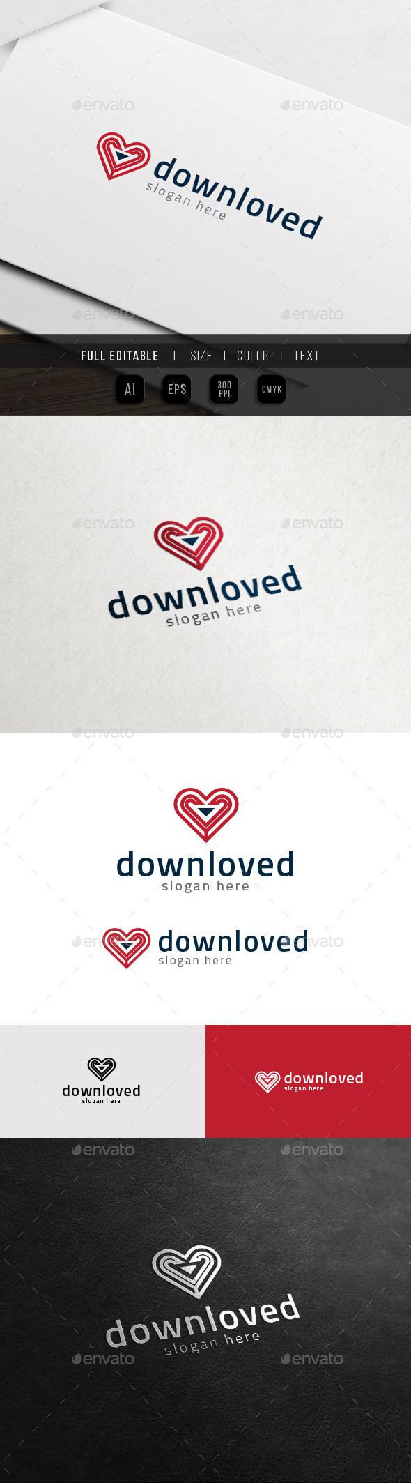 GraphicRiver Download Heart Share Love Logo 11774402