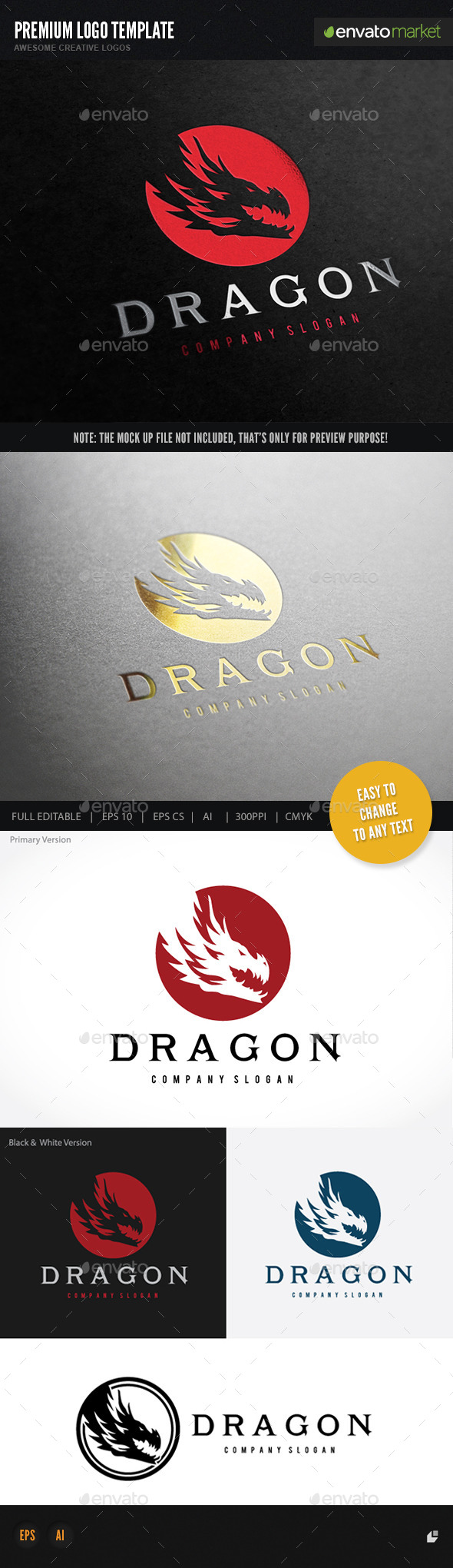GraphicRiver Dragon 11774492