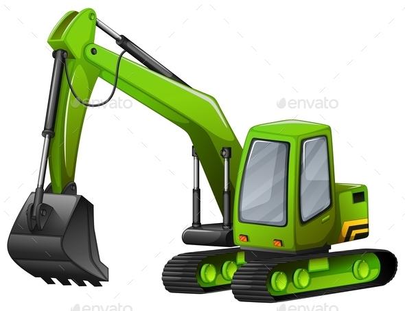 GraphicRiver Excavator 11774813