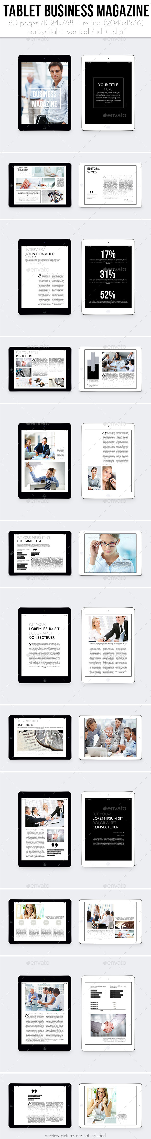GraphicRiver iPad &Tablet Business Magazine 11774821