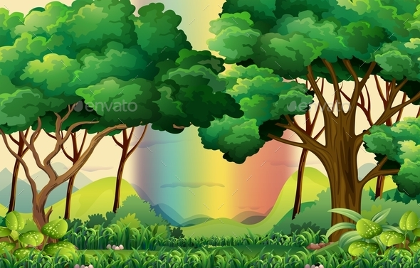 GraphicRiver Forest 11774824