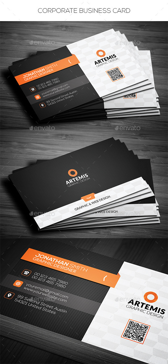 GraphicRiver Corporate Business Card 11774830