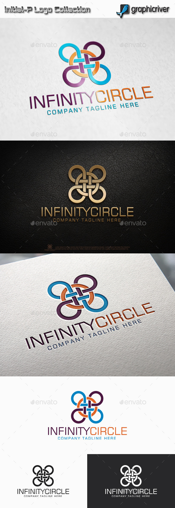 GraphicRiver Infinity Circle Logo 11775072