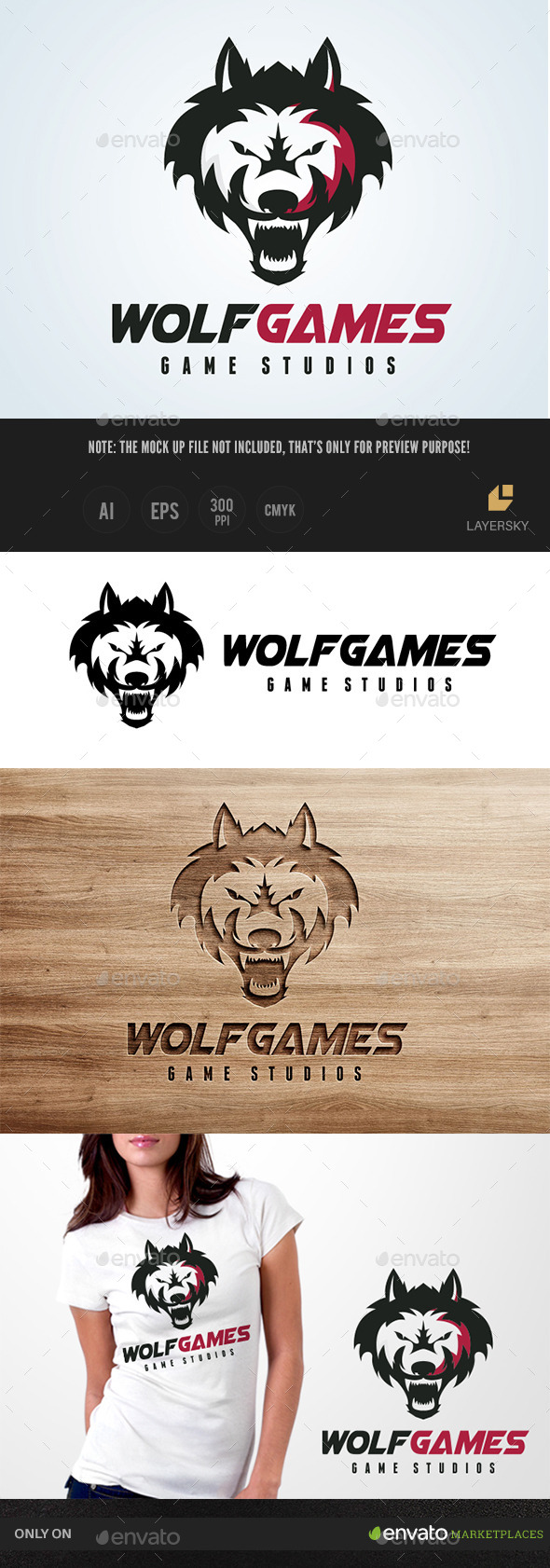 GraphicRiver Wolf Games 11775151