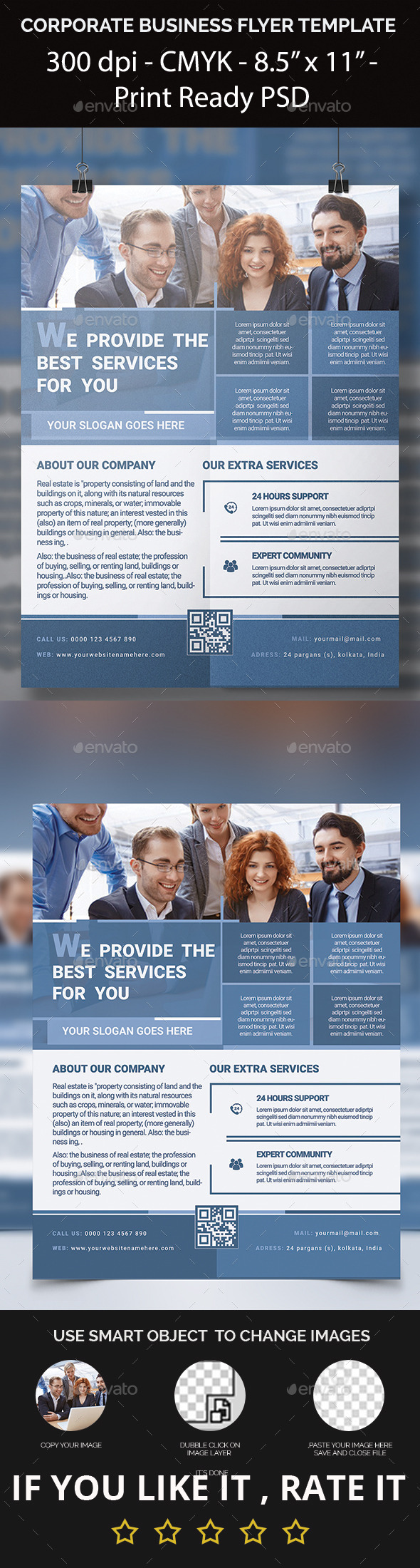 GraphicRiver Corporate Business Flyer Template 11775155