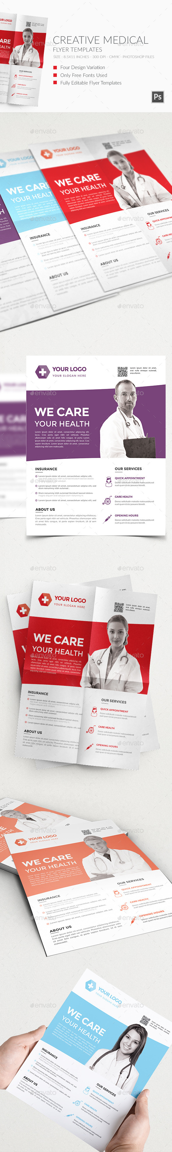 GraphicRiver Medical Flyers Templates 3 11771891