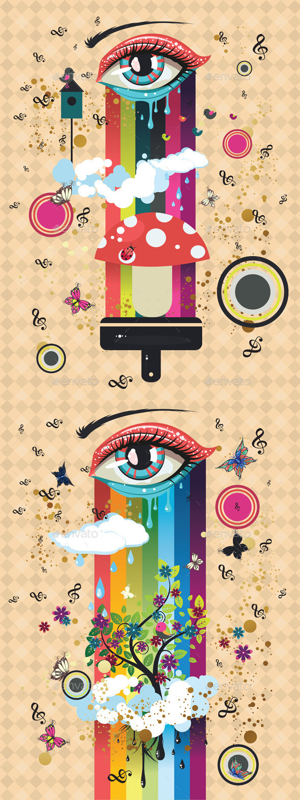 GraphicRiver Surreal Eye 11775793