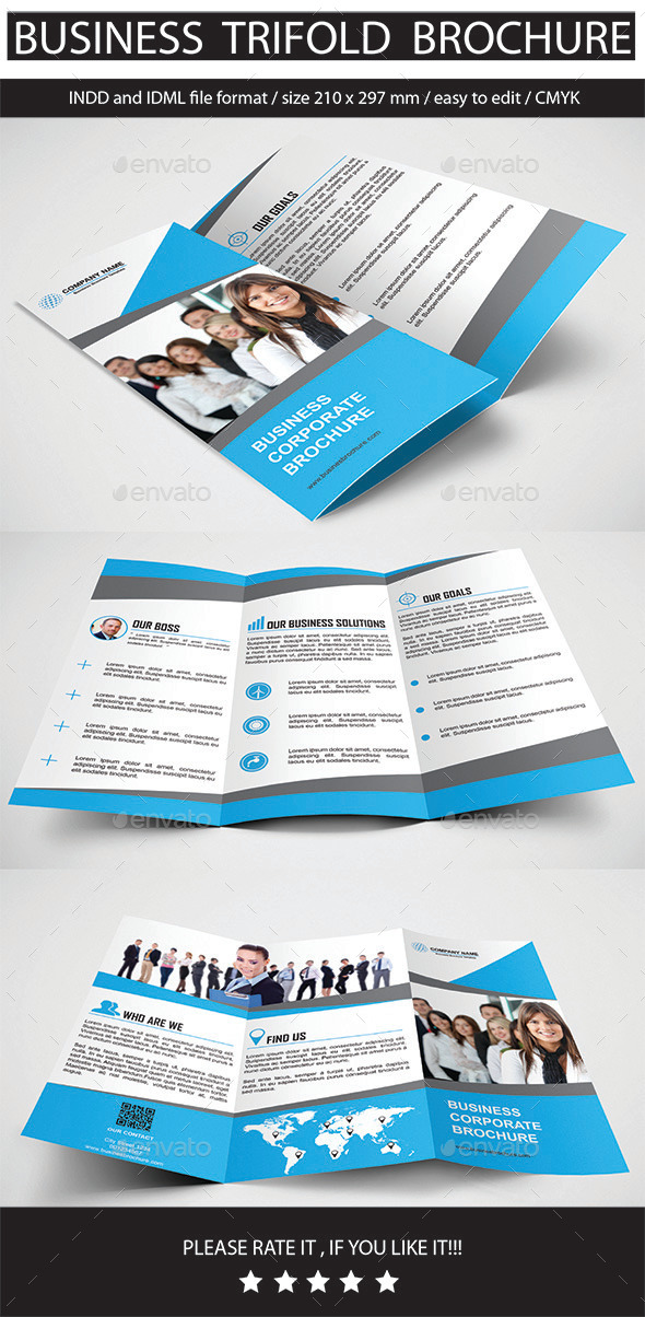 GraphicRiver Business Trifold Brochure 11775857
