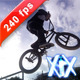 Bmx Rider Making A Bike Jump - VideoHive Item for Sale