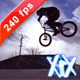 Teenager Is Jumping With His BMX Bike At The Skate - VideoHive Item for Sale