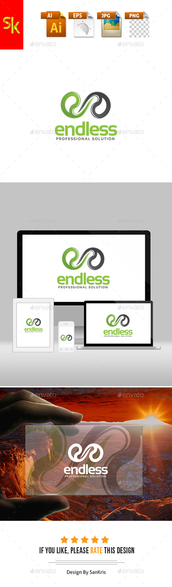 GraphicRiver Endless E Logo 11776561