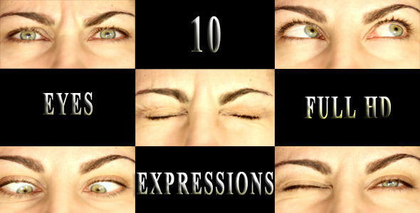 Eyes Expressions Large Pack