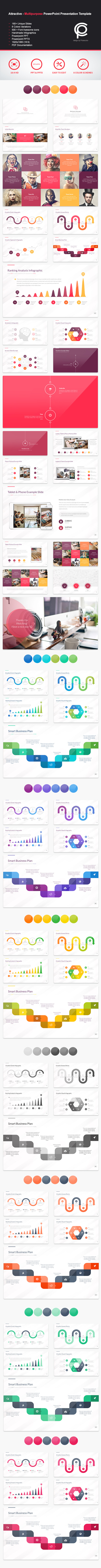 GraphicRiver Attractive Multipurpose PowerPoint Presentation 11778342