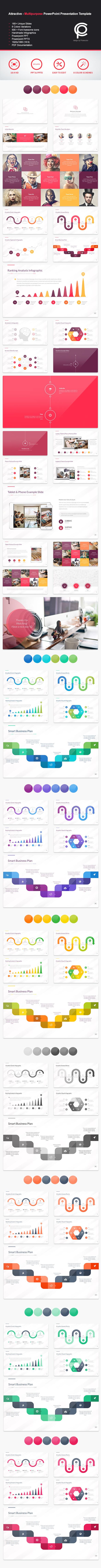GraphicRiver Attractive Multipurpose PowerPoint Presentation 11778342