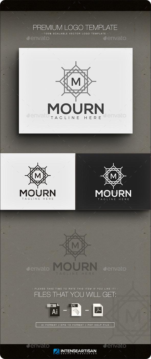 GraphicRiver Mourn Crest Logo 11778281