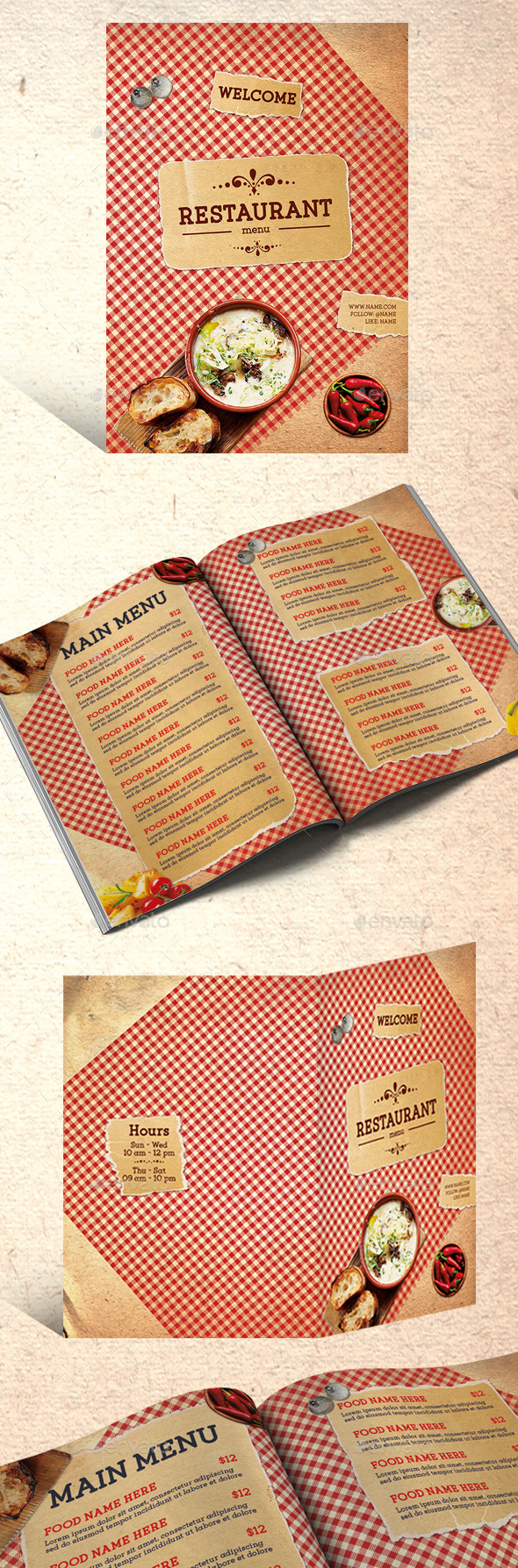 GraphicRiver Restaurant Menu 11778364