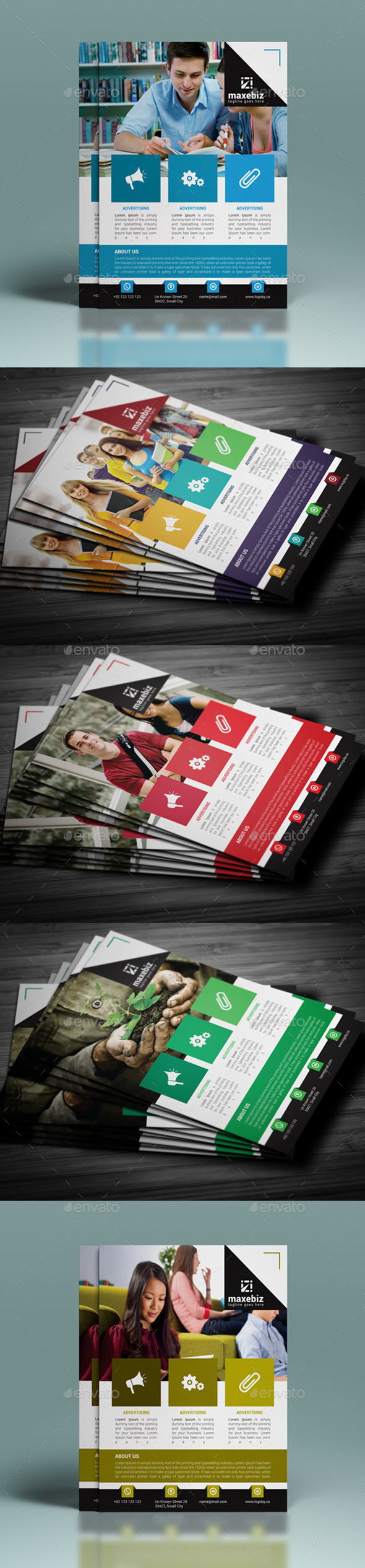 GraphicRiver Corporate Flyer Template 11778394