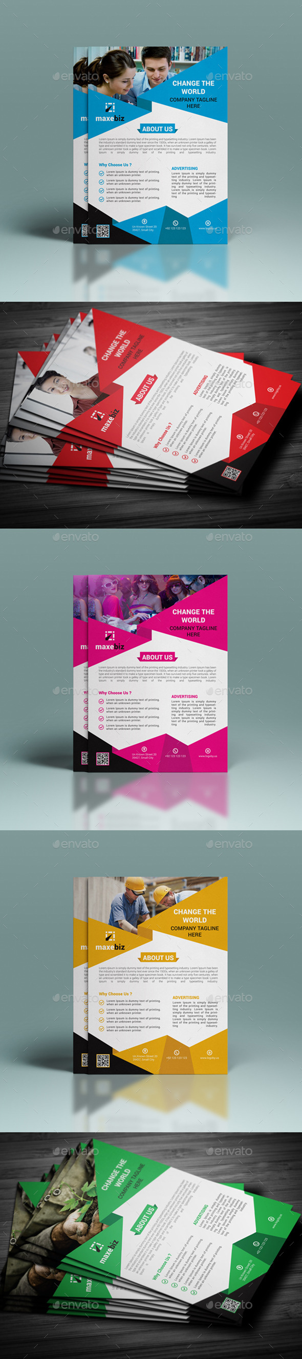 GraphicRiver Corporate Flyer Template 11778491