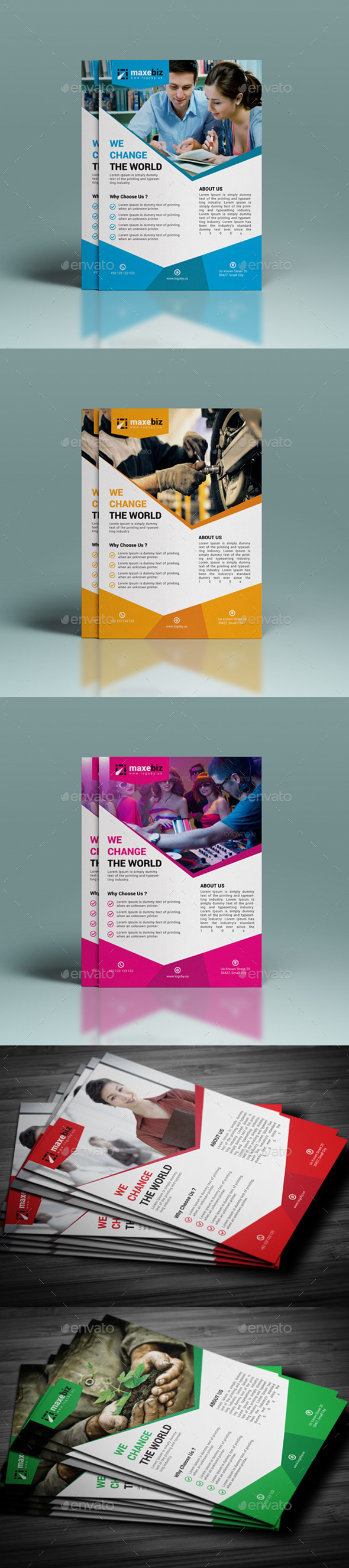 GraphicRiver Corporate Business Flyer Template 11778658