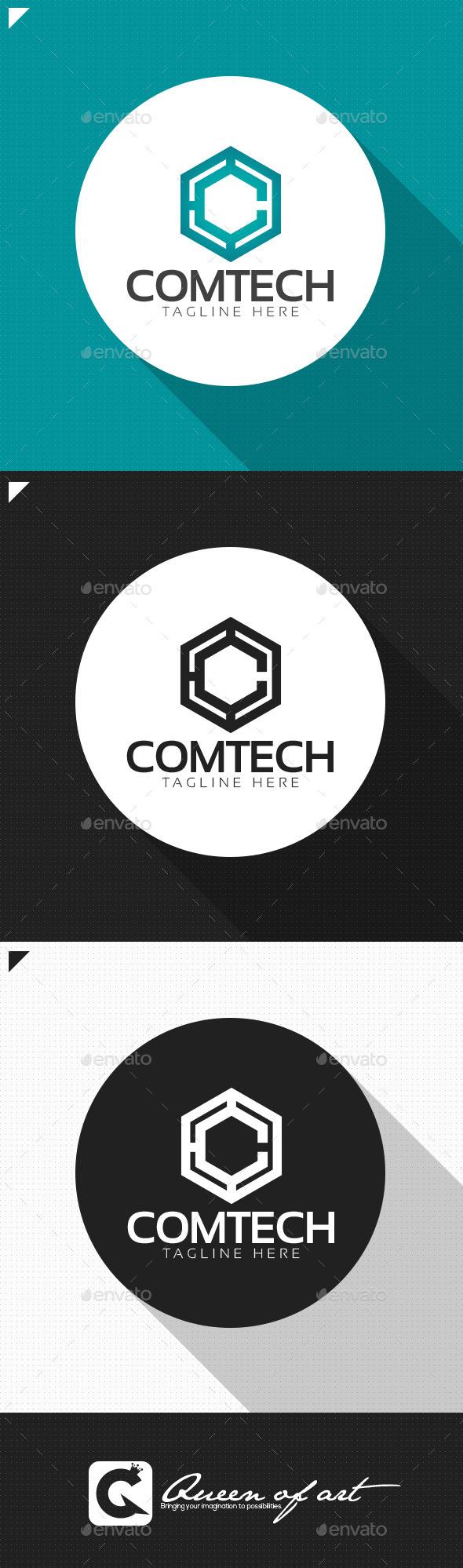 GraphicRiver Comtech Logo 11778837