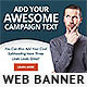 Corporate Web Banner Design Template 63 - GraphicRiver Item for Sale