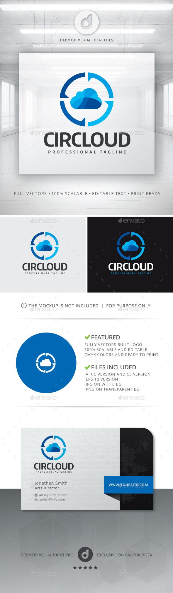 GraphicRiver Circloud Logo 11778897